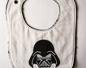 Vader inspired Baby Bib, Star wars Baby, Embroidered bib, Baby shower Gift Ideas, Baby Gifts