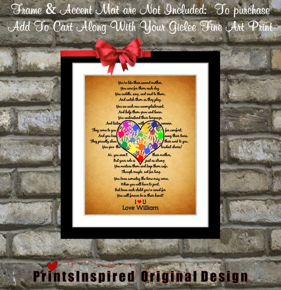 Personalized Daycare Provider Gifts For Teacher by ...