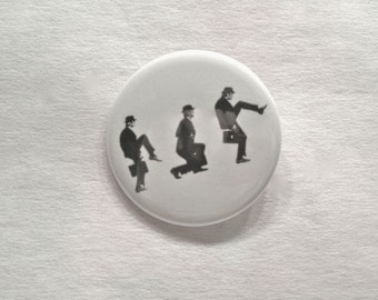 Ministry of Silly Walks - Monty Python - 2.25 inch Button or Magnet
