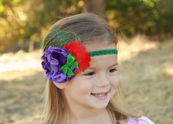 ... headband, Disney headband, Dress up, The Little Mermaid, Under the Sea