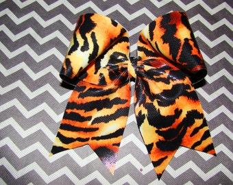 Tiger Cheer Bow