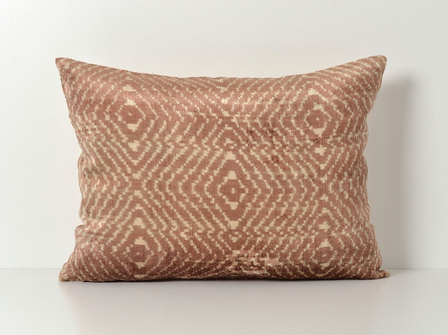 Throw Pillows For Brown Couch : Brown Ikat Pillow Ikat Pillows Decorative Throw Pillow Couch