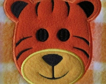 Pin Tiger Applique By Oneandtwoco Crocheting Pattern Cake