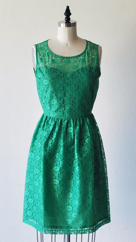 Provence jade jade green lace dress sweetheart by for Jade green wedding dresses