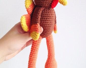 Turkey Plush, Turkey Stuffef Toy, Turkey Stuffed Animal, Thanksgiving Decor, Thanksgiving Turkey, Turkey Pilgrim