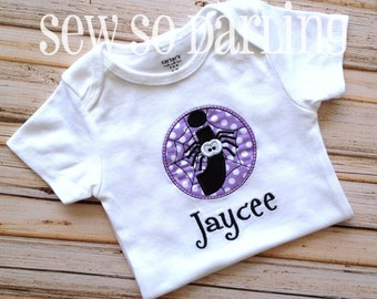 Halloween Spider Baby Outfit - Baby Halloween Outfit - Spider Outfit
