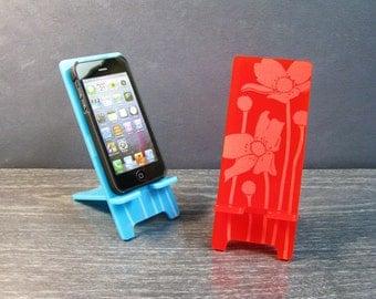 Cute Flower Docking Station Phone Dock - 5 Sizes - 9 Colors - iPhone 6, iPhone 6 Plus, iPhone 5, iPhone 4, Samsung Galaxy S5 S4 S3
