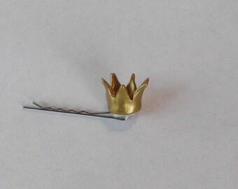 Crown Hair Pin Extra Mini Crown Bobby Pin Princess Hair pin