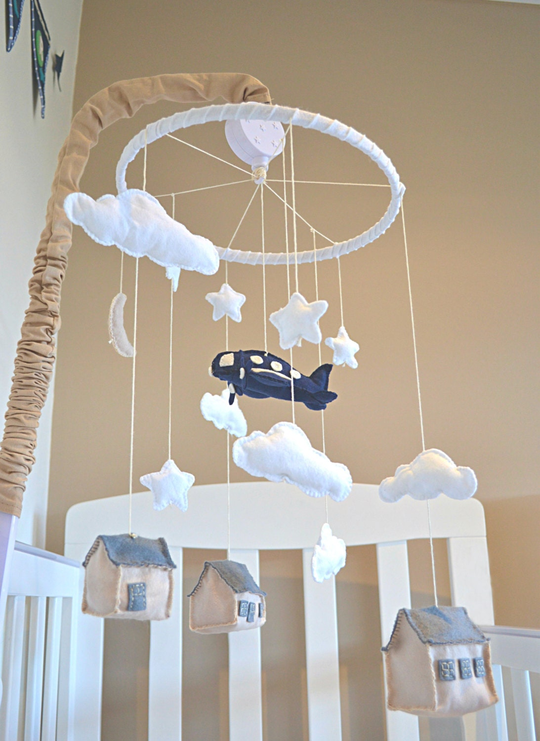Baby Crib Mobile Nursery Mobile Baby Mobile By