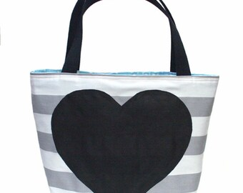 Giant Heart Tote