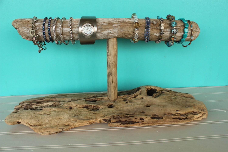 driftwood jewelry holder bracelet holder necklace