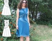 Nougat dress pattern in three variations