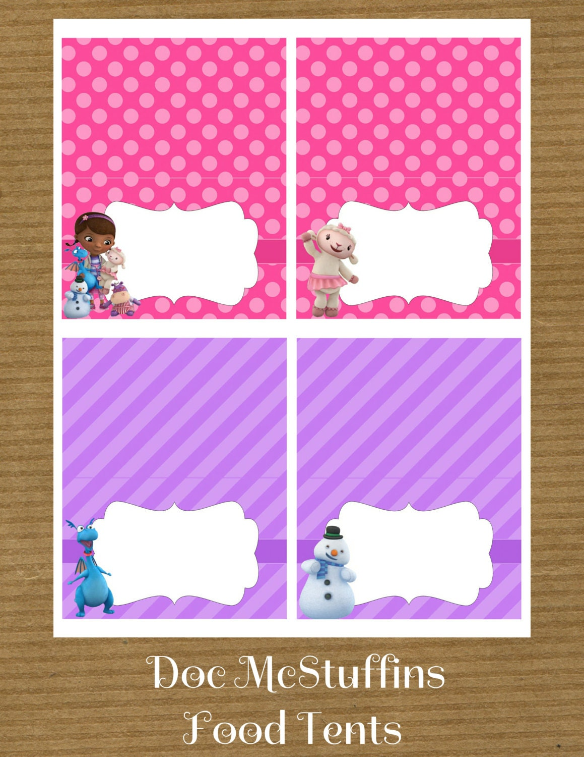 This is a graphic of Enterprising Free Doc Mcstuffins Printable