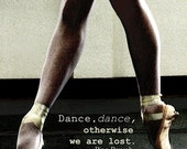 Pointe Fine Art Photography Print, 5x7, 8x10, 11x14, Ballet Photography, Pointe Shoes, Dance Print, Pina Bausch