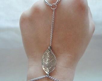 Leaf Slave Bracelet
