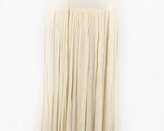 Vintage Ethereal Midi Skirt