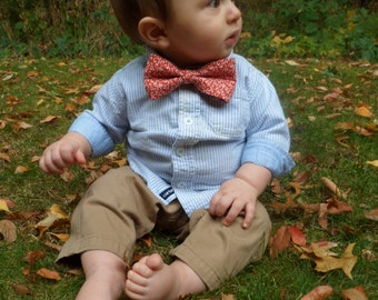 Baby/Toddler Red Bow Tie