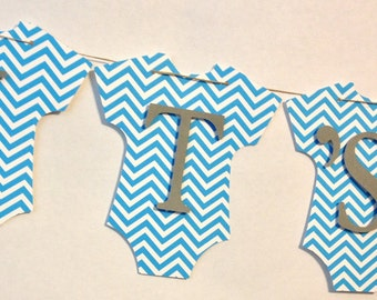 It's A Boy Baby Banner,  Baby Shower Decorations, Party Decorations, Bow Tie Theme