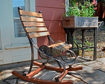 Repurposed Rocking Chair