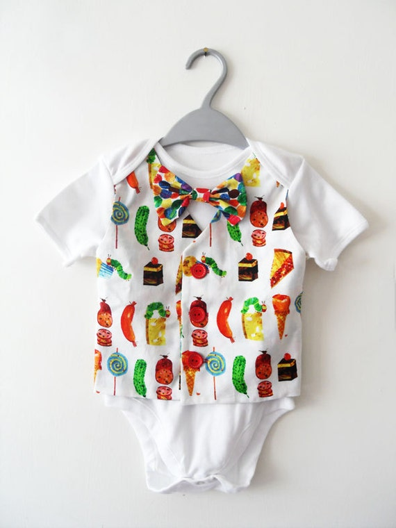 Baby boy clothing vest onesie waistcoat by thewhitegoosecompany