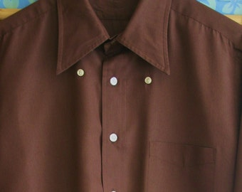 Chocolate milk shirt etsy for Mens chocolate brown shirt