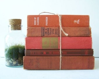 FREE SHIPPING Vintage Book Collection