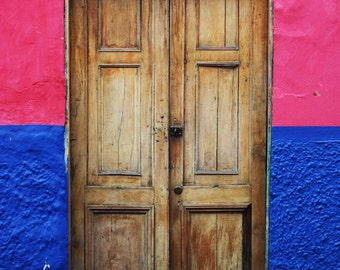 Colombia Photography - Door Print - Bogota - Travel Photograph