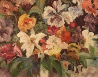 O/C Excellent Oil Painting vintage