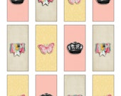 Shabby Chic Printable Mini Candy Wrappers- INSTANT DOWNLOAD