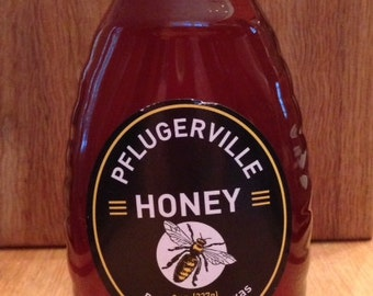 8oz Texas Wildflower Honey  100% Raw honey from the hive