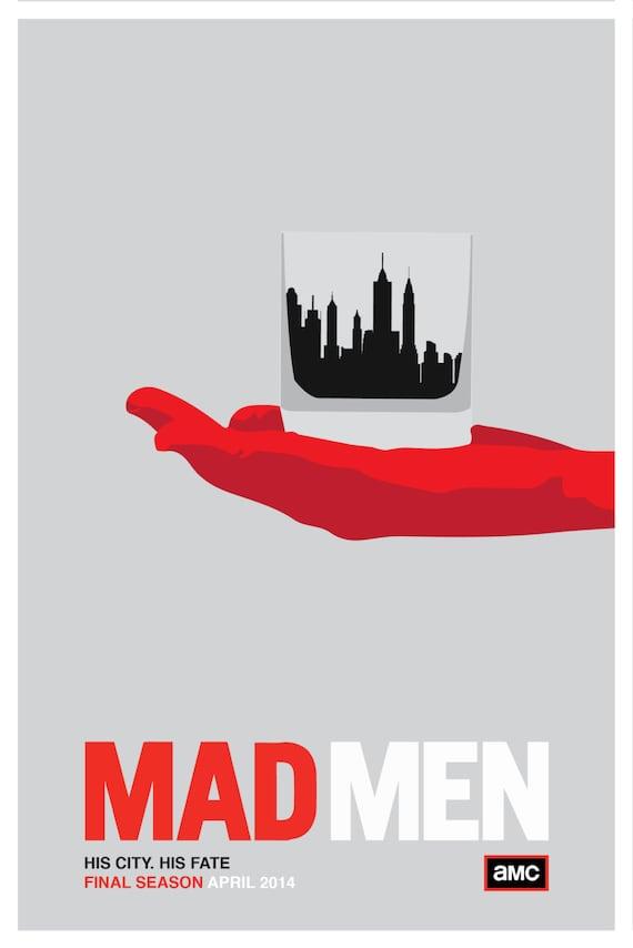 "Items similar to Mad Men Poster - Season 7 ""His City. His ..."