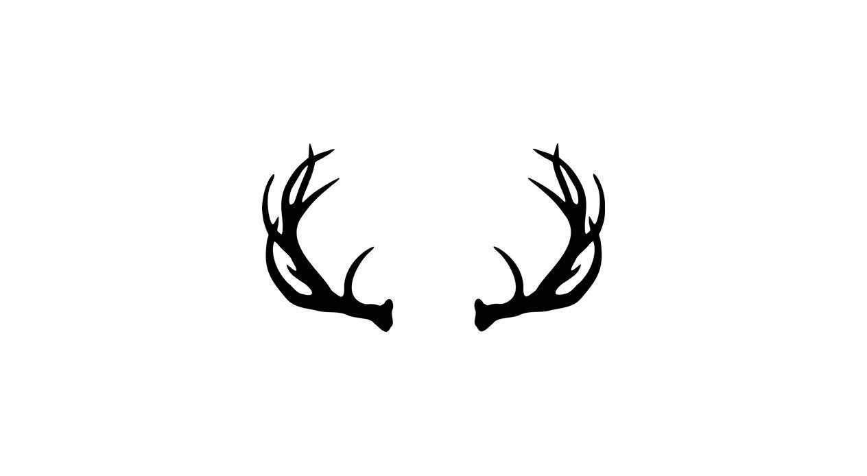 Vector Deer Antler Clip Art Deer Antler by ...
