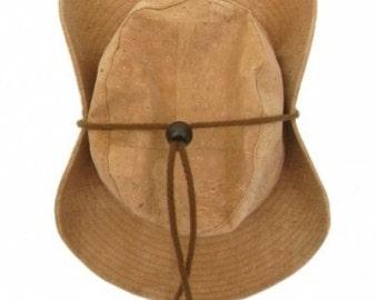 Cork Hat - FREE SHIPPING WORLDWIDE -  Vegan Eco-Friendly Gift Idea