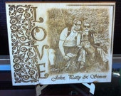 Engrave your favorite Photo on this Plaque and add personal text.