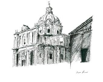 Roman Forum Side : Print