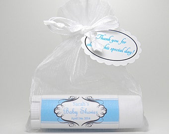 10 Baby Shower Favors: Organic Lip Balms, flavored and creamy!