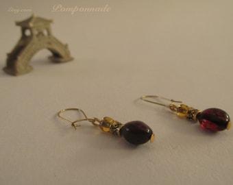 2716 - Amber Earrings