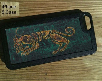 iPhone 5 Case, Tribal Magick Series, Celtic Wolf
