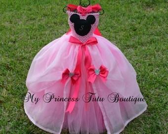 Minnie Mouse Tutu Dress Minnie Mouse Princess Dress