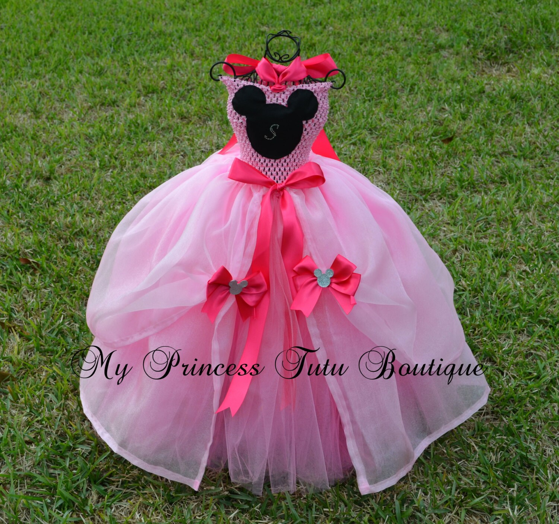 Minnie mouse tutu dress minnie mouse princess dress - Princesse minnie ...