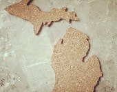 State of Michigan Corkboard: made to order