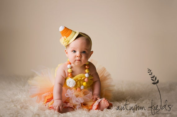 Halloween Costume Tutu Cute Candy Corn Costume By