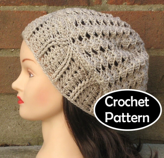 Crochet Hat Pattern Download : CROCHET HAT PATTERN Instant Download Athena by AlyseCrochet