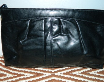 SALE Black Wristlet Clutch