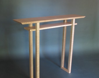 Floating Shelves Narrow Console Table for hall table