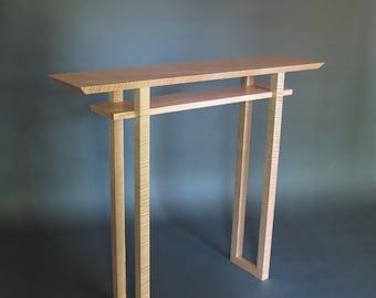 Petite Table Console Pour Porte Dentr E Mid Century Modern