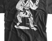 Karate Suit TShirt Funny Karate Gi Tshirt Kung Fu Black Belt Karate Martial Arts T-shirt Gifts for Guys TShirt Mens Ladies Womens Youth Kids