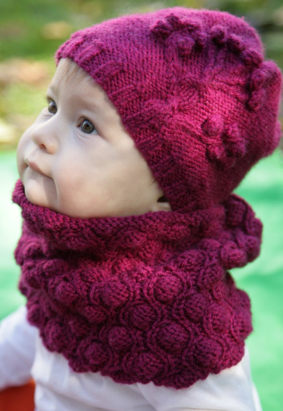 Knitting Pattern NAPA VALLEY Cowl neck warmer/headband