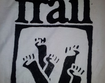 FRAIL Straight Edge, sXe, hardcore, emo t-shirt