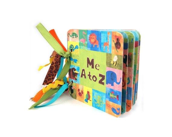 Digital animal ABC book / alphabet book / mini album / scrapbook / downloadable / printable